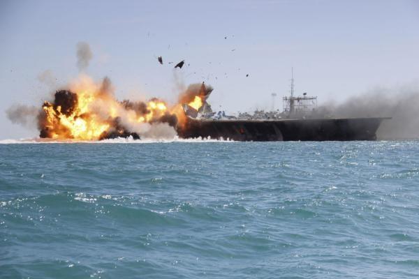 导弹潜艇无人机齐上阵