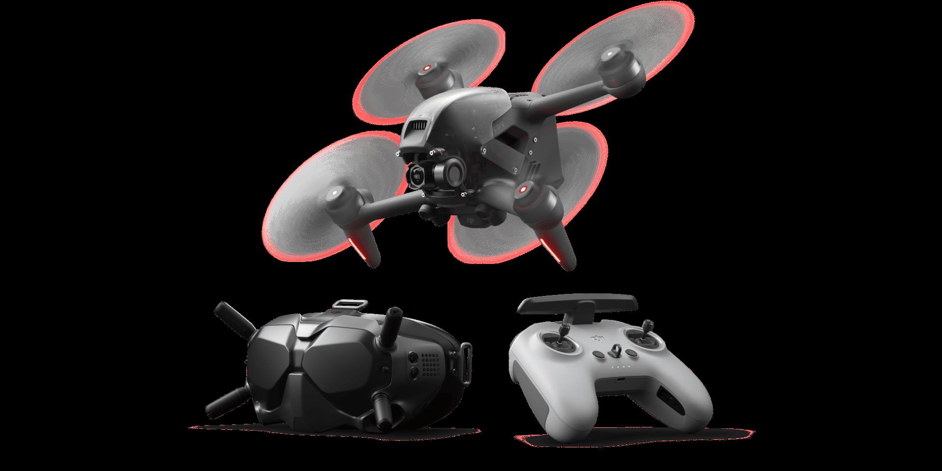 DJI FPV!大疆创新发布沉浸式飞行无人机 DJI FPV