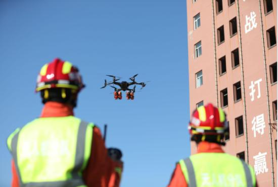 关于无人机在消防部门使用的7种方式